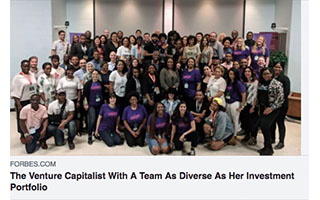 Link Forbes Article Amiah Sheppard The Venture Capitalist With a Team As Diverse As Her Investment Portfolio