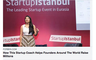 Link Forbes article Andrea Barrica How This Startup Coach Helps Founders Around The World Raise Millions