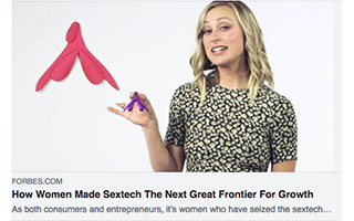 Link Forbes article Andrea Barrica How Women Made Sextech The Next Great Frontier For Growth