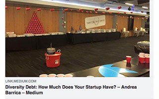 Link Medium article Andrea Barrica Diversity Debt-How Much Does Your Startup Have