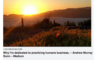 Andrew Dunn Article Medium Why Im dedicated to humane business