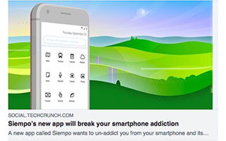Andrew Dunn Article Techcrunch Simepo New App Will break Your Smartphone Addiction