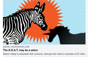 Link TechCrunch Article Aniyia Williams The GOAT May Be a Zebra