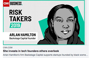 Link CNN Business Article Arlan Hamilton She Invests in Tech Founders Others Overlook