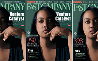 Link FastCompany Article Arlan Hamilton Cover Story