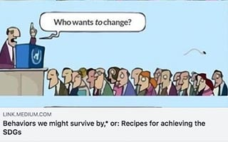 Astrid Scholz Article Medium Behaviors We Might Survive by or Recipes for Achieving the SDGs