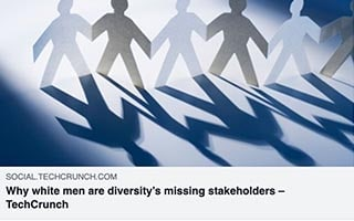 Aubrey Blanche Article Techcrunch Why White Men are Diversity missing stakeholders