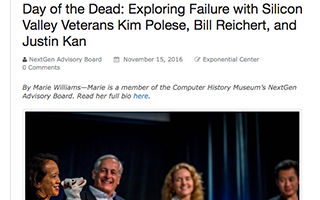 Link Computer History Article Exploring Failure with Silicon Valley Veterans Gravity Speakers