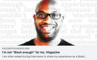 Brian Brackeen Article Medium Im Not Black Enough for Inc Magazine