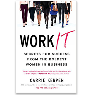 Link Amazon Carrie Kerpen Book Work It Women Business Gravity Speakers