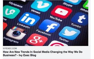 Link IVY Exec Article Cathy Hackl How Are New Trends In Social Media Changing the Way We Do Business