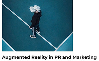Link MENAFN Article Cathy Hackl Augmented Reality in PR and Marketing