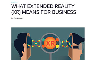 Link You Visit Article Cathy Hackl What Extended Reality XR Means for Business