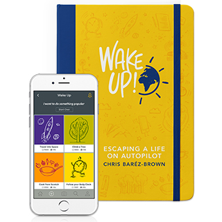Link Amazon Book Chris Barez-Brown Wake Up Gravity Speakers