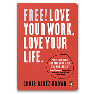 Link Amazon Chris Barez-Brown Book Free Love Your Work Love Your Life Gravity Speakers