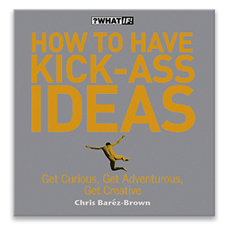 Link Amazon Chris Barez-Brown Book How To Have Kick-Ass Ideas Gravity Speakers