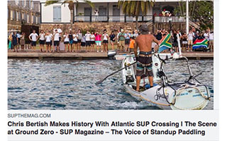 Link SUP The Magazine Article Chris Bertish makes history