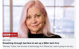 Link BBC Article Christie Pitts Smashing through Barriers to Set Up a 2bn Tech Firm
