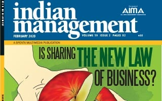 Courtney Caldwell Article Indian Management Magazine The Sharing Impact