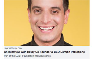 Link Medium Article Damian Pelliccione An Interview with Revry Co-Founder