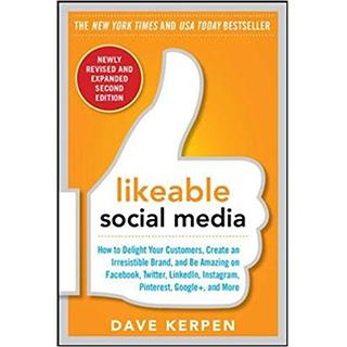 Link Amazon Dave Kerpen Book Likeable Social Media Gravity Speakers