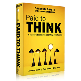 David Goldsmith Book Paid to Think Link to Amazon