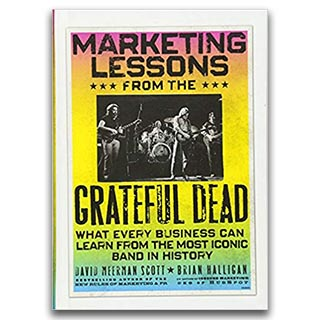 Link Amazon David Meerman Scott Book Marketing Lessons From The Grateful Dead