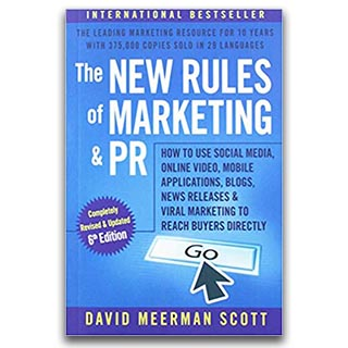 Link Amazon David Meerman Scott Book The New Rules of Marketing and PR