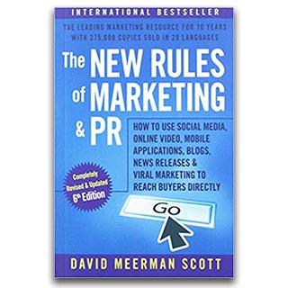 Link Amazon David Meerman Scott Book The New Rules of Marketing and PR
