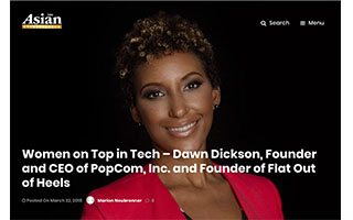 Link Asian Entrepreneur Article Dawn Dickson Women on Top in Tech