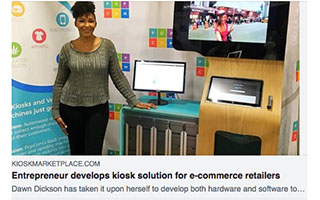 Link Kiosk Marketplace Dawn Dickson Entrepreneur Develops Kiosk Solution