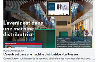 Link LaPresse Article Dawn Dickson