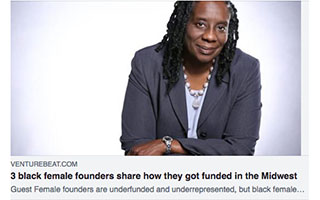 Link Venture Beat Article Dawn Dickson 3 Black Female Founders