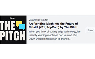 Link Gimlet Podcast Dawn Dickson Vending Machines the Future of Retail