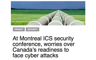 Link IT World Canada Article Eric Byers Canada readiness