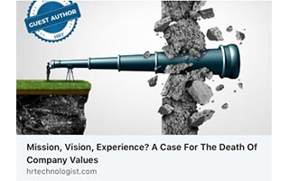 Eric Termuende Article HR Technologist Mission Vision Experience