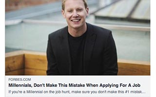 Eric Termuende Article Millennials Dont Make This Mistake When Applying For a Job