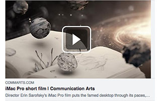 Link CommArts Article Erin Sarofsky iMac Pro short film