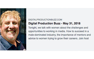 Link DigitalProductionBuzz Erin Sarofsky Podcast