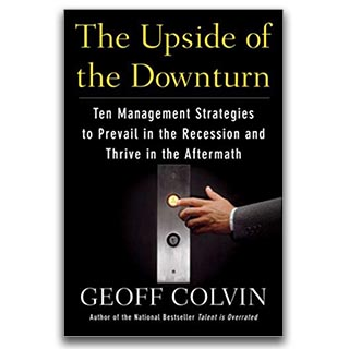 Link Amazon Geoff Colvin Book The Upside of the Downturn