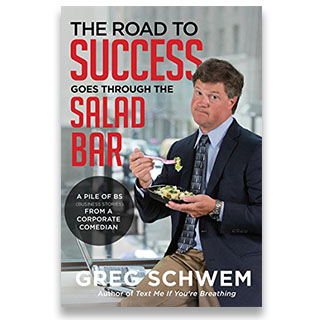 Link Amazon Book Greg Schwem The Road To Success Goes Through The Salad Bar