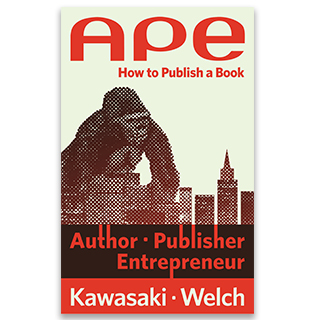 Link Amazon Book Guy Kawasaki APE Publisher Author Entrepreneur Gravity Speakers