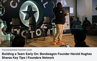 Harold Hughes Article Founders Network Building Teams