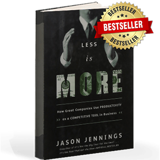 Link to Amazon Jason Jenning Book Less Is More Productivity Gravity Speakers