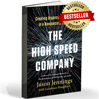 Link to Amazon Jason Jennings Book High Speed Company Gravity Speakers