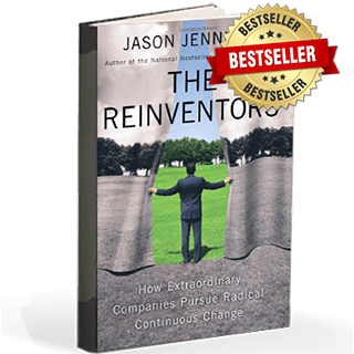 Link to Amazon Jason Jennings Book The Reinventors Gravity Speakers