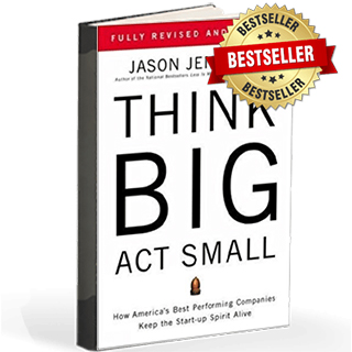 Link to Amazon Jason Jennings Book Think Big Start Up Gravity Speakers