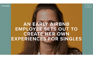Link Stilobox article Kati Schmidt An Early Airbnb Employee