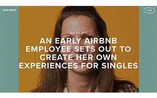 Link Stilobox article Kati Schmidt An Early Airbnb Employee
