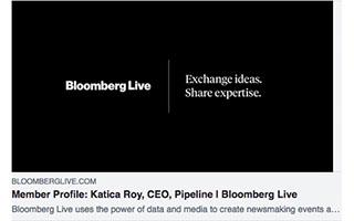 Link Bloomberg Article Katica Roy Member Profile